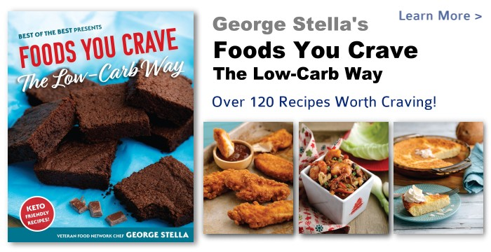 George stella stella style community george stellas new book for 2018 foods you crave the low carb way forumfinder Images